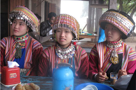 Mon ethnic group in Myanmar.