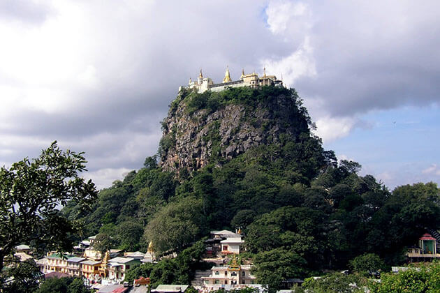 Mount-Popa-home to the Nat of Myanmar