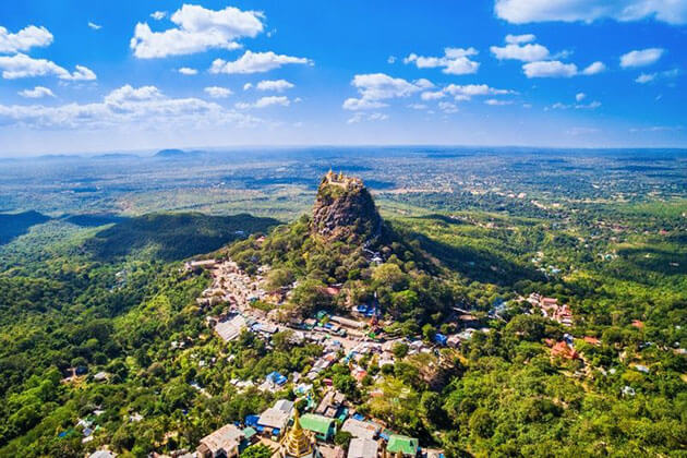 Mt popa bagan