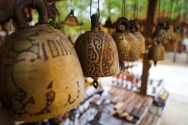Myanmar Bells as souvenirs