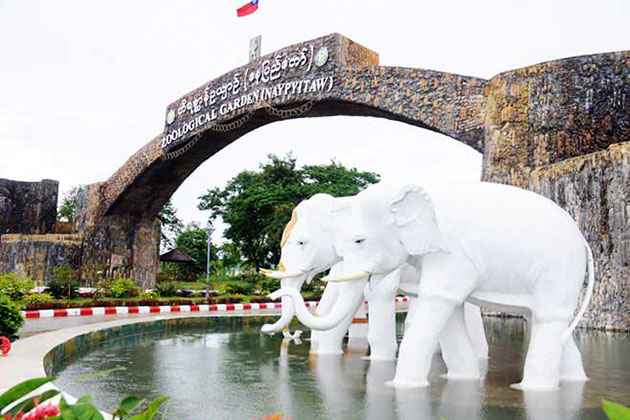 Nay Pyi Taw zoo logical garden-one of the popular tourist attractions of the city