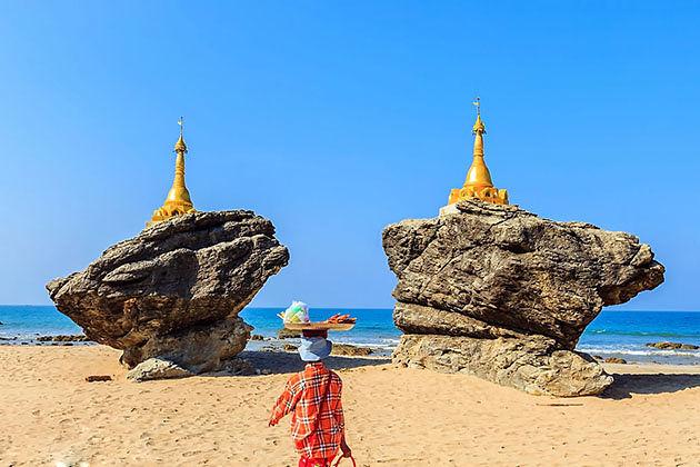 Ngwe saung beach vacation