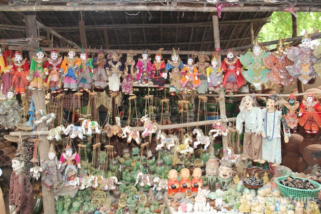 Nyaung Market in Bagan