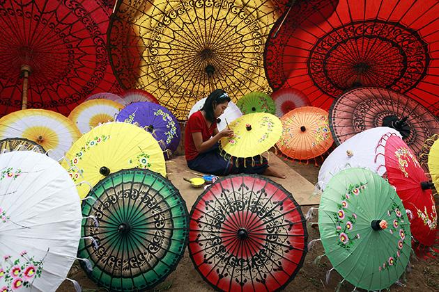 Pathein Umbrella Myanmar