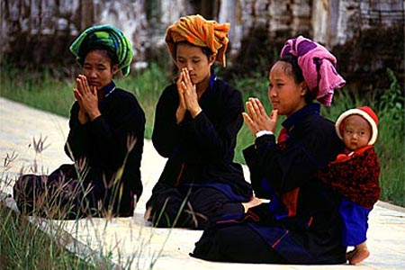 Shan Ethnic Group in Myanmar.