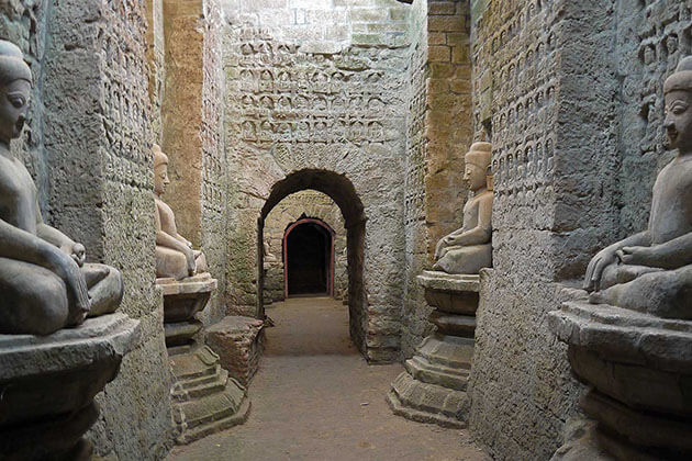 Shittaung temple - the hidden treasure that you should not miss in Mrauk U
