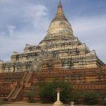ShweSandaw pagoda in Nyaungu.