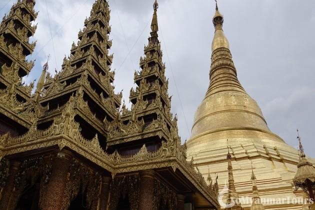 Visit Shwedagon Pagoda in Myanmar Trip 4 days