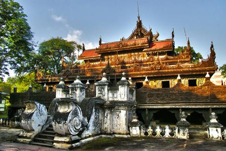 Shwenandaw Monastery.
