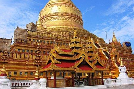 Shwezigon Pagoda, Myanmar.