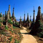 Temple of Indein, Myanmar.