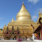 The Shwezigon pagoda in Bagan
