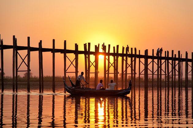 U bein bridge-the longest teak bridge in the world