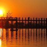 Ubein Wooden Bridge