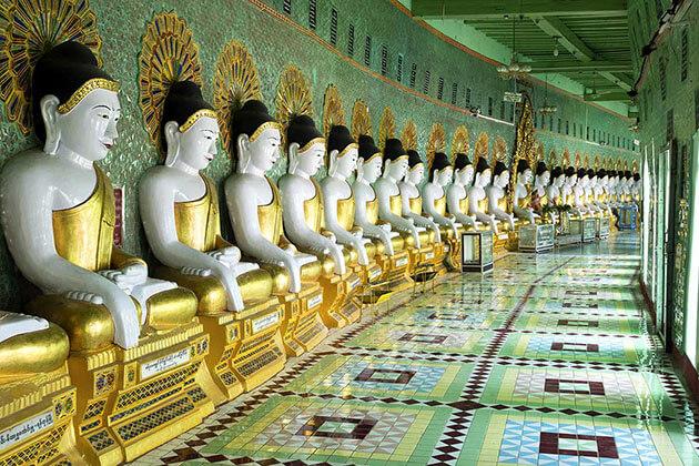 Umin Thonze pagoda