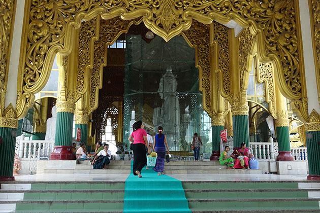 Visit Loka Chantha Abhaya Laba Marble Buddha Image in Myanmar itinerary 5 days