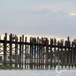 Visit the longest teak-wood bridge in the world