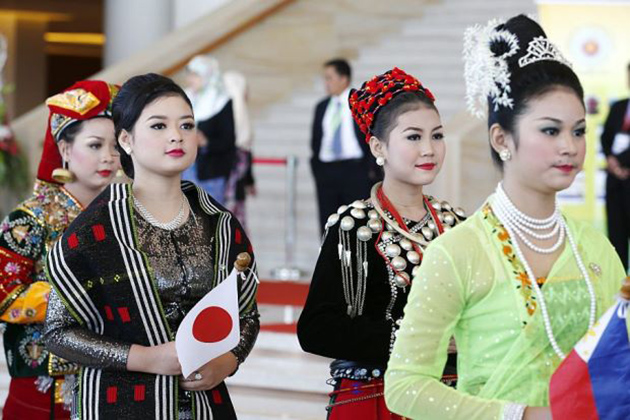 When Myanmar people wear traditional clothes