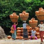 Yandaboo pottery village