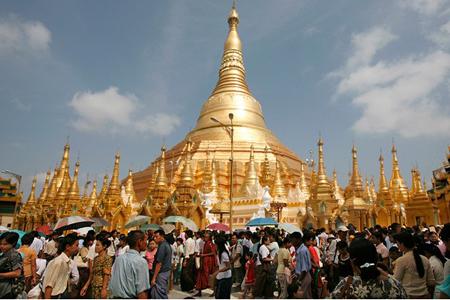Yangon-The capital of Myanmar.