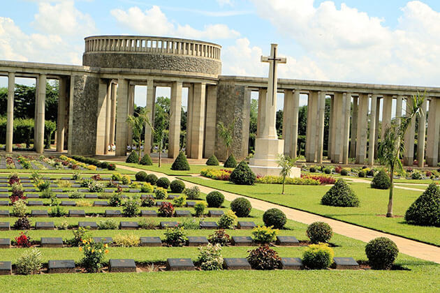 bago day trip from Yangon to Allied War Cemetery
