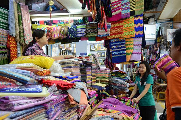 bogyoke aungsan market-yangon tour