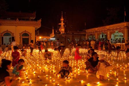 Buddhist Festival in Myanmar