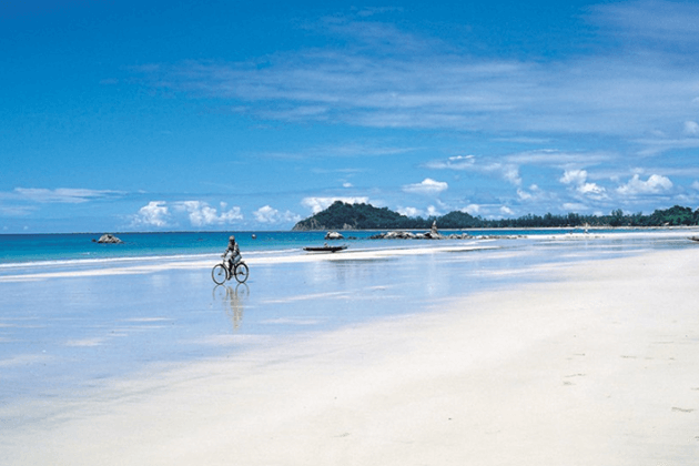 cycling is one of the best things to do in ngapali beach