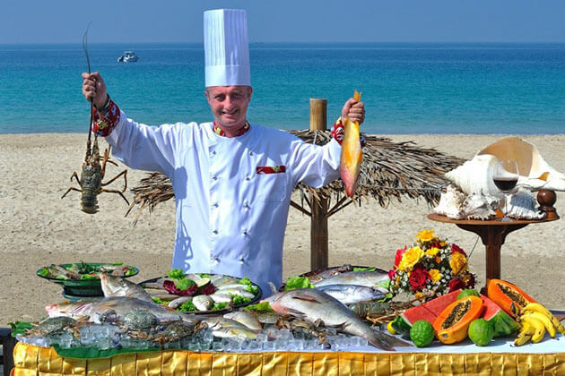enjoy fresh seafood is an awesome thing to do in ngapali beach