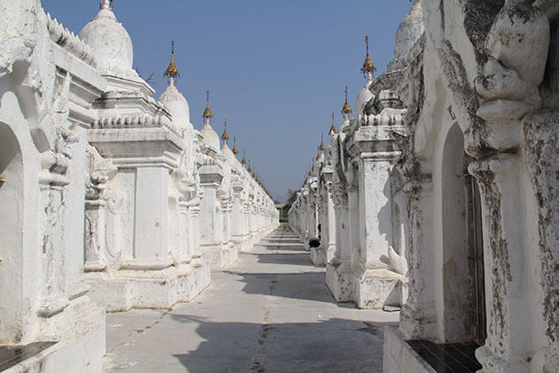 kuthodaw pagoda mandalay the largest Buddhist book in the world