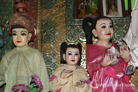 learn about 37 nats of burma in mt popa trip
