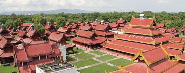 mandalay palace visit in myanmar luxury tour