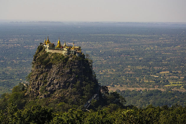 mt popa - the most beautiful and sacred mountain in bagan