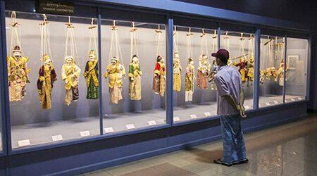 national museum visit in yangon tour