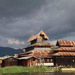 ngaphechaung monastery - the largest monastery on inle lake