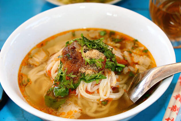 shan noodle-essence of Myanmar traditional food