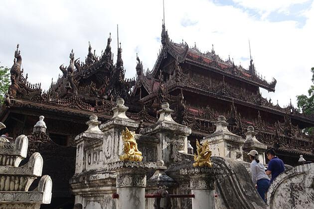 shwenadaw monastery Mandalay