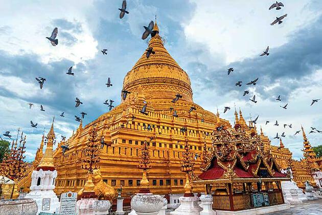 shwezigon pagoda baganshwezigon pagoda bagan