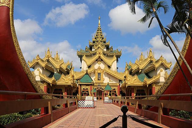 the golden barge karaweik hall