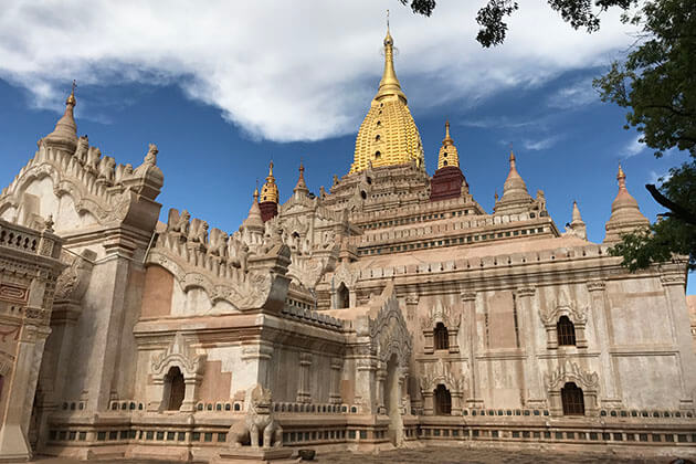 Ananda temple - the most beautiful temple in bagan