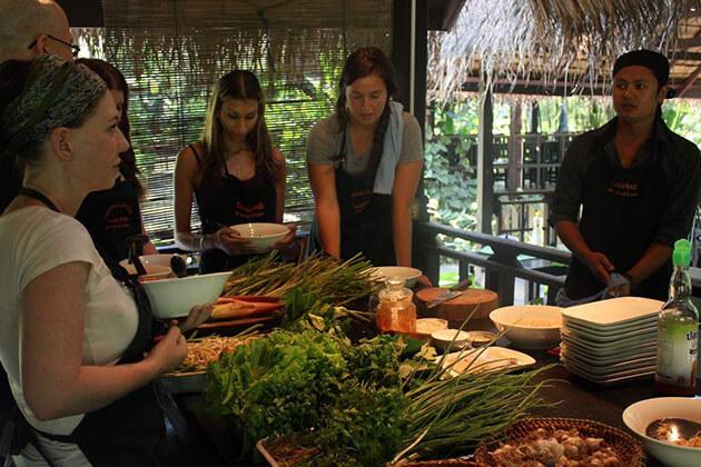 Cooking class in luang phrabang