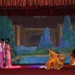 Enjoy Traditional dance in Myanmar laos vietnam itinerary