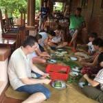 Experience Vietnamese life in a homestay is an amazing activity in Myanmar Laos Vietnam itinerary