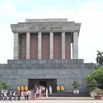 Ho Chi Minh Mausoleum in Myanmar Laos Vietnam tour