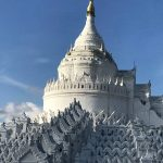 Hsinbyume pagoda -higlight of Mingun