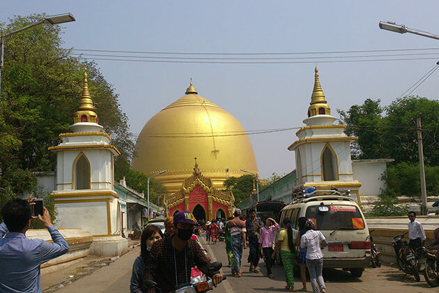 Kaunghmudaw Pagoda Festival