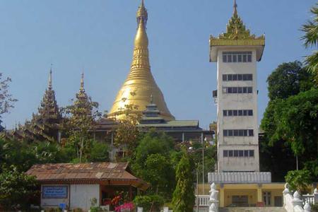 Kyaik Khauk Pagoda.
