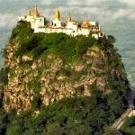 Myanmar laos vietnam itinerary to Mt Popa in Bagan
