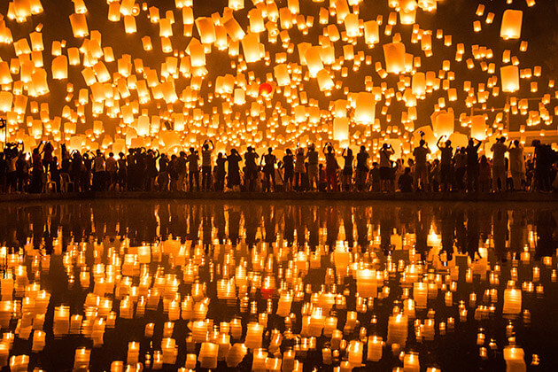 Myanmar lit up on the festival of light