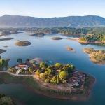 Nam Ngum Lake in Myanmar laos vietnam itinerary